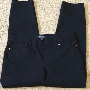 """Ellen Tracy stretchy pull on skinny """"jeans"""""""